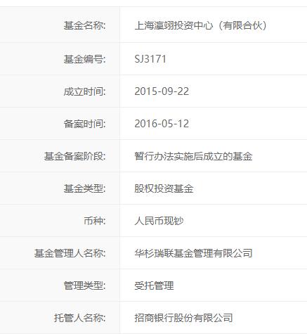 上海瀛翊公司主要持股情況